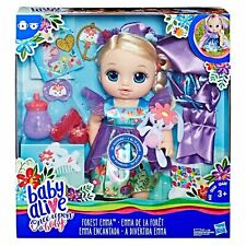 Baby Alive Once Upon a Baby: Forest Tales Forest Emma w/ Blonde Straight Hair