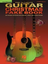 The Ultimate Guitar Christmas Fake Book 2nd Edition Sheet Music NEW 000236446
