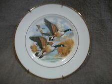 Vintage Pall Mall Ware England Porcelain Bone China Decorative Geese Goose Plate