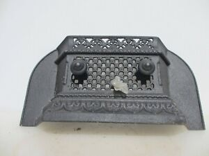 Victorian Iron Fire Front Fender Grate Grill Kerb Antique Fireplace Vintage Old