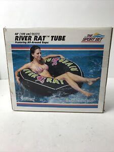 """Intex Sport Set River Rat Swim Inner Tube 48"""" 122cm #68209 From 2006 (OPEN BOX)"""