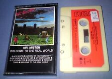 MR. MISTER WELCOME TO THE REAL WORLD PAPER LABELS cassette tape album T4706