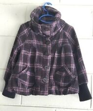 Next girls Coat Sz5-6 yrs. wool blend and lined. Cute