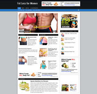 FAT LOSS FOR WOMEN WEBSITE & AFFILIATE STORE WITH FREE DOMAIN + HOSTING