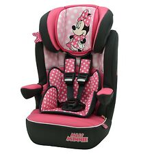 Disney Minnie Mouse I Max Imax SP 1-10yr Baby Child Car Seat Booster
