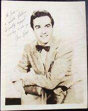 Gene Krupa Prominent Dummer Of American Jazz & Big Band Era Signed Photograph