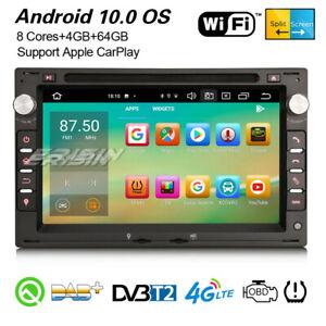 8-Core Android 10.0 Autoradio GPS For VW Polo Passat Golf 4 Jetta T5 Sharan SEAT