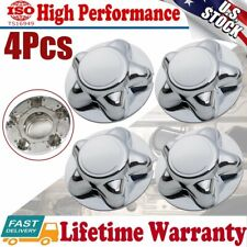 """4PCS Chrome Wheel Center Hub Covers Cap for 1997-2003 Ford F-150 Expedition 7"""""""