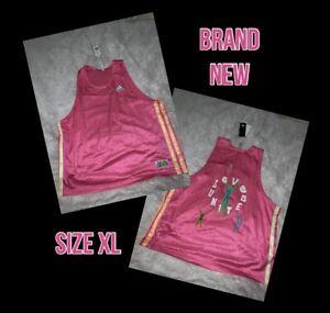 Adidas H56743 PRD Badge Of Sport Love Unites  Jersey Pink Unisex Sz XL NWT
