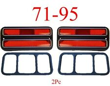 71 95 Chevy Van 2Pc Deluxe Red Rear Side Lights G10 G20 G30 GMC