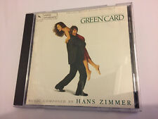 GREEN CARD (Hans Zimmer) OOP 1991 Varese Score Soundtrack OST CD
