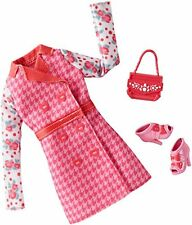 Barbie Life in the Dreamhouse Doll Fashion Shoes Pink Dress Outfit Clothing New