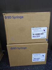 Lot Of 2 Bd 309604 10ml Syringes No Needle 100bx