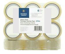 12 Rolls Carton Box Sealing Packing Tape 16mil 2 X 110yds Clear