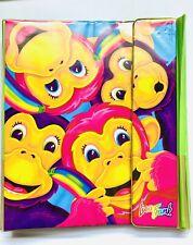 Vintage 1990's Lisa Frank 'Rainbow Monkey' Trapper Keeper Binder