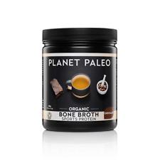 Planet Paleo Organic Bone Broth Sports Protein Chocolate 480g