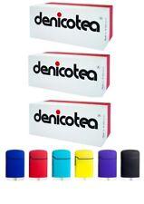 3 x Denicotea Zigarettenspitze Filter  á 50 Stk. + 1 Easy Torch Turbofeuerzeug