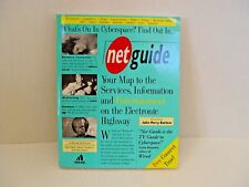 NETGUIDE YOUR MAP TO SERVICES INFO AND ENTERTAINMENT ON ELECTRONIC HIGHWAY BOOK