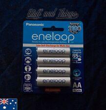 Panasonic - Eneloop AA Rechargable Batteries - 4 pack