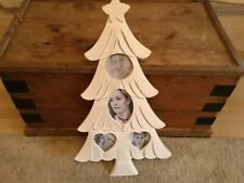 Gorgeous Friends/Family Tree Lime washed Shabby Chic Multi Photo Picture Frame