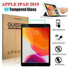 For Apple iPad 10.2'' 2019 7th Gen Tablet Clear Tempered Glass Screen Protector
