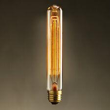 E26 40W Retro Style Electric Baton Edison Incandescent Bulb Single Light