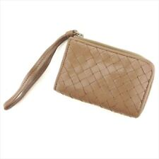 Bottega Veneta Coin Case Intrecciato Brown leather Woman unisex C3300