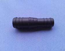 (2784) 206C 1x Schlauchverbinder RGV 16 - 20 mm gerade reduziert 74mm schwarz
