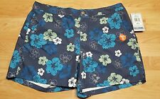 REEL LEGENDS PERFORMANCE CLOTHING MENS SHORTS Bathing suit floral XL NWT $44 UPF