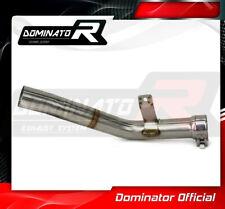DE-CAT DECAT Cat Eliminator Down Pipe Exhaust DOMINATOR GSXR 600 L1-L6 11-16