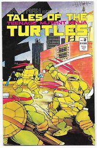 Tales o/t Teenage Mutant Ninja Turtles #2 Mirage Comics Eastman & Laird