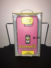 OtterBox Symmetry Case for Samsung Galaxy S6 Edge Plus Pink and Gray *Cover