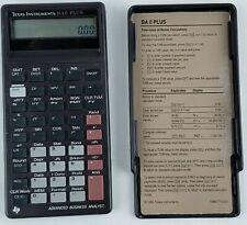 New listing Texas Instruments Baii Plus Professional Financial Calculator Advanced Analyst