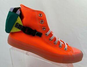 Converse Chuck Taylor All Star Buckle Up Hi Men's Neon Total Orange 169031C