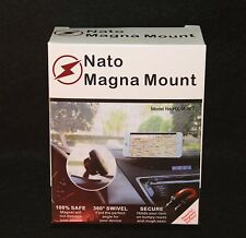 TWO - Magnetic Nato Magna smart phone dash mount iphone, samsung