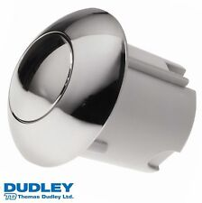 DUDLEY ROYAL PUSHFLO PINTO SINGLE 91mm FLUSH ROUND PUSH BUTTON ONLY 316562 CP
