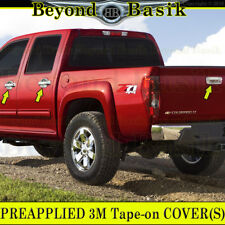 2004-2012 CHEVY COLORADO GMC CANYON Chrome Door Handle Covers NoPSKH+Tailgate