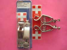 25 AMP BATTERY CABLE WIRE CHARGING ALLIGATOR SPRING CLAMPS CLIPS MADE IN USA