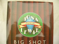 JONA LEWIE BIG SHOT / MOMENTARILY  stiff/ buy 85 new / original 45rpm single