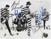 The Stranglers SIGNED Photo 1st Generation PRINT Ltd 150 + Certificate /2