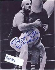"Maurice ""Mad Dog"" Vachon AWA Autographed Signed 8x10 Photo COA #6 DECEASED"