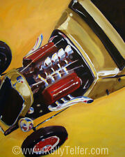 '32 Ford' V8 Street Rod, Hot Rod, Rat Rod 16 x 20 Print by Kelly Telfer Ltd. Ed.
