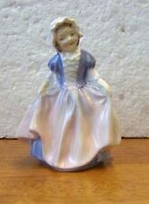 Royal Doulton figurine DINKY DO hand painted girl pink dress