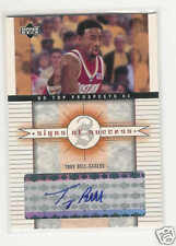 2003-04 UD TOP PROSPECTS SIGNS SUCCESS TROY BELL AUTO
