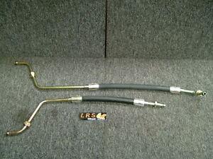 Land Rover Defender 300 TDi Engine Oil Cooler Pipes set PBP500190 PBP500200