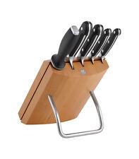 Zwilling® Pro Messerblock, natur, 6-tlg. Küchenmesser Messer Fleischmesser