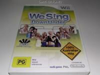 We Sing Down Under Nintendo Wii PAL *Complete* Wii U Compatible