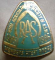 PIN ON BADGE BROOCH ORIGINAL APPROX 4 CM .GUEST 7860 RAS 1985 1986