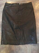 Vintage Linea Leather Skirt Size 10
