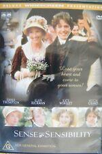 DVD Sense And Sensibilty Emma Thompson Alan Rickman Kate Winslet Region 4